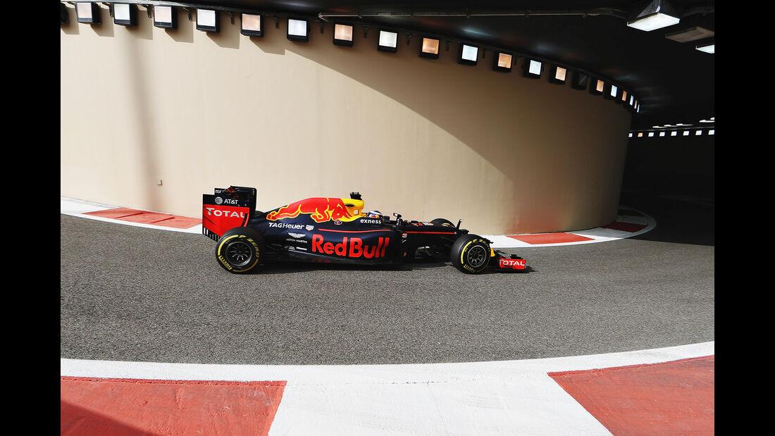 Daniel Ricciardo - Red Bull - Formel 1 - GP Abu Dhabi - 25. November 2016