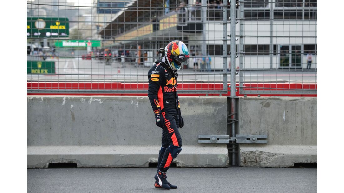 Daniel Ricciardo - Red Bull - Formel 1 - GP Aserbaidschan - 29. April 2018