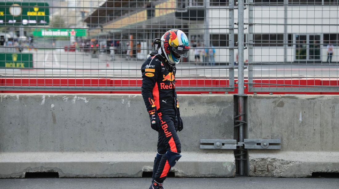 Daniel Ricciardo - Red Bull - Formel 1 - GP Aserbaidschan - 29. April 2018