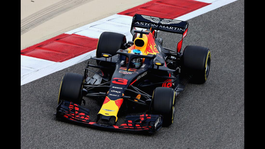 Daniel Ricciardo - Red Bull - Formel 1 - GP Bahrain - Training - 6. April 2018