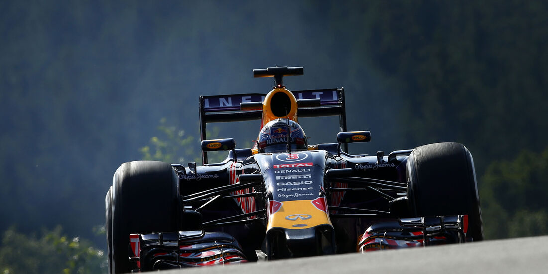 Daniel Ricciardo - Red Bull - Formel 1 - GP Belgien - Spa-Francorchamps - 21. August 2015