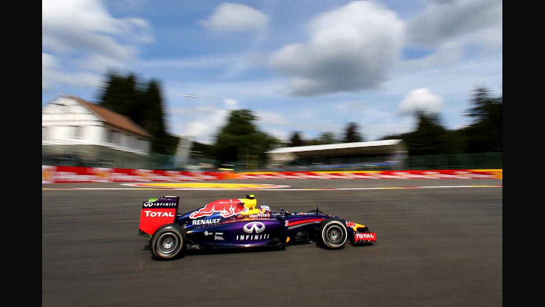 Daniel Ricciardo - Red Bull - Formel 1 - GP Belgien - Spa-Francorchamps - 22. August 2014