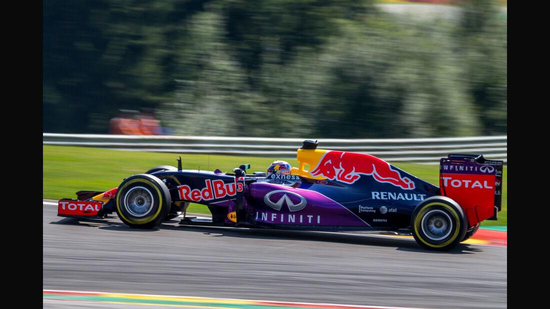 Daniel Ricciardo - Red Bull - Formel 1 - GP Belgien - Spa-Francorchamps - 22. August 2015