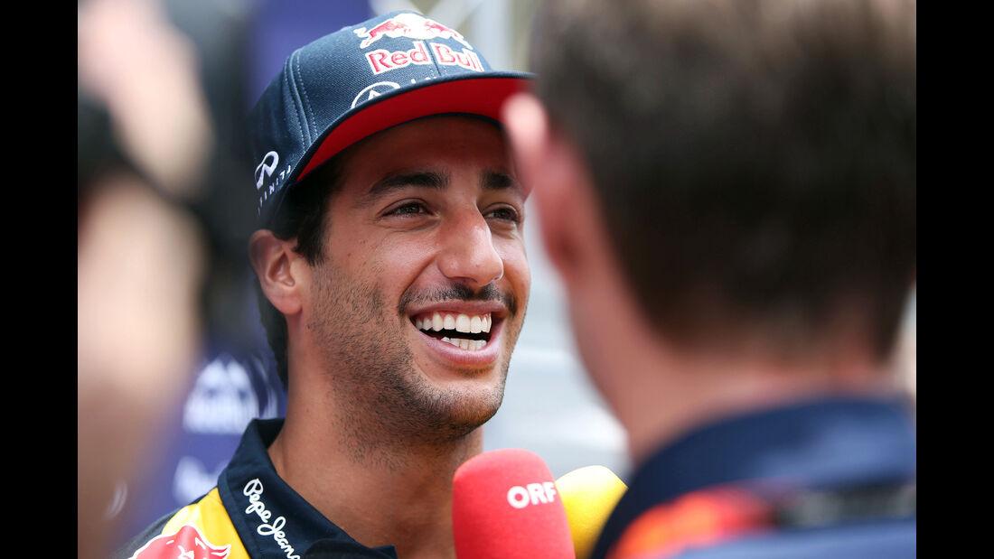Daniel Ricciardo - Red Bull - Formel 1 - GP Brasilien- 12. November 2015