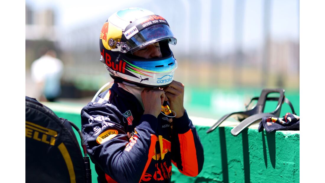 Daniel Ricciardo - Red Bull - Formel 1 - GP Brasilien - 12. November 2017