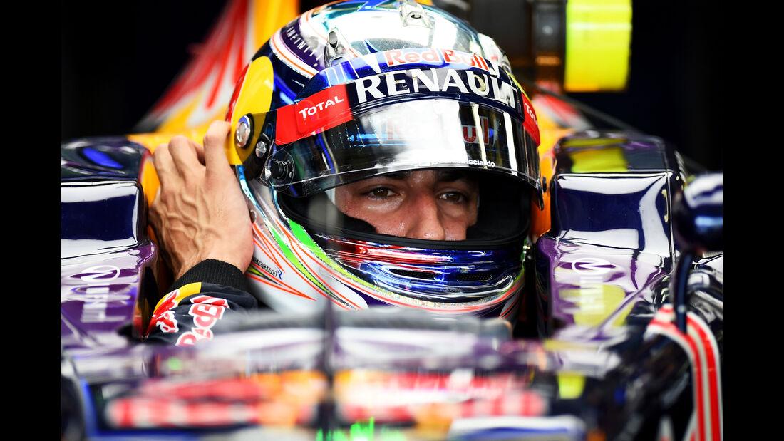 Daniel Ricciardo - Red Bull - Formel 1 - GP Brasilien- 14. November 2015