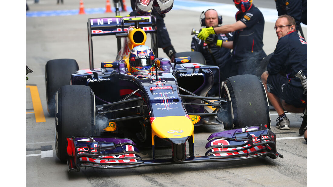 Daniel Ricciardo - Red Bull - Formel 1 - GP China - Shanghai - 18. April 2014