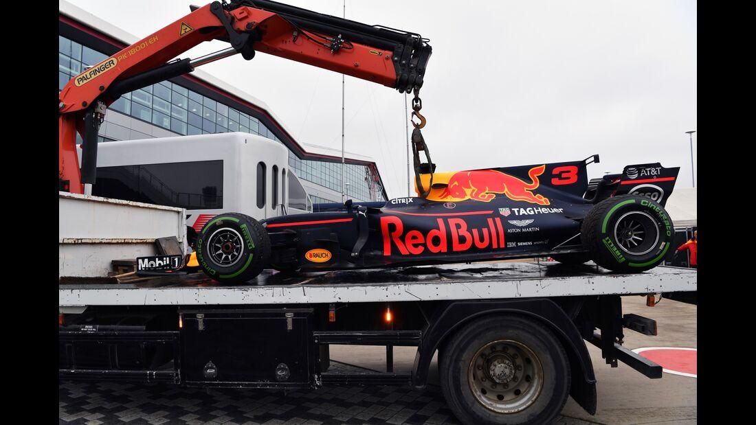 Daniel Ricciardo - Red Bull - Formel 1 - GP England - 15. Juli 2017