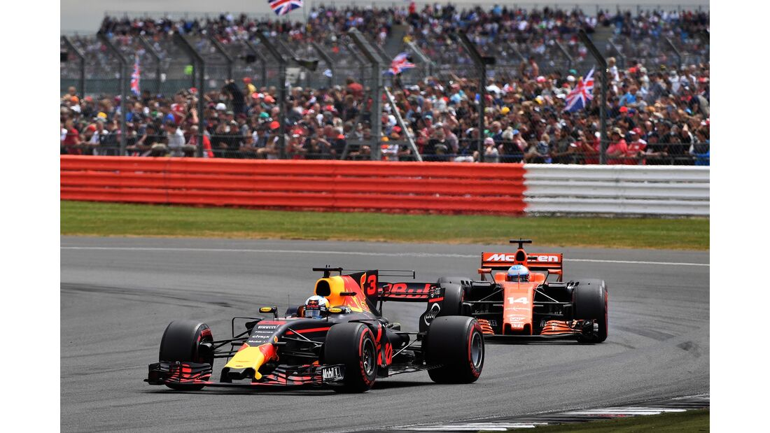Daniel Ricciardo - Red Bull - Formel 1 - GP England - 16. Juli 2017