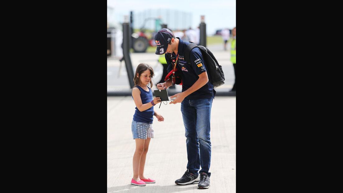 Daniel Ricciardo - Red Bull - Formel 1 - GP England - Silverstone - 3. Juli 2014