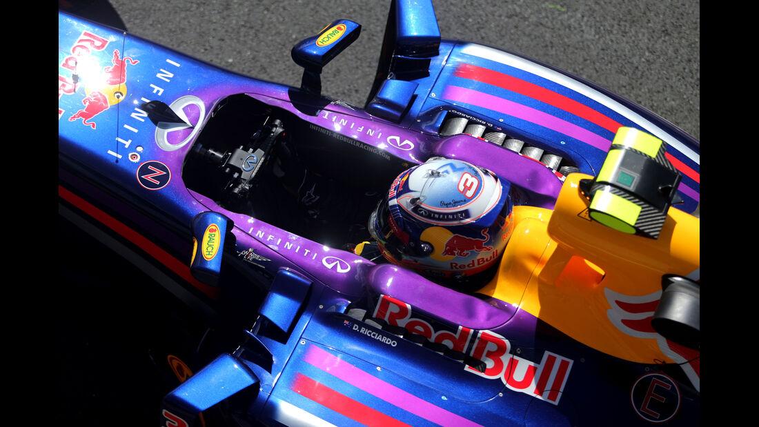 Daniel Ricciardo - Red Bull - Formel 1 - GP England  - Silverstone - 4. Juli 2014