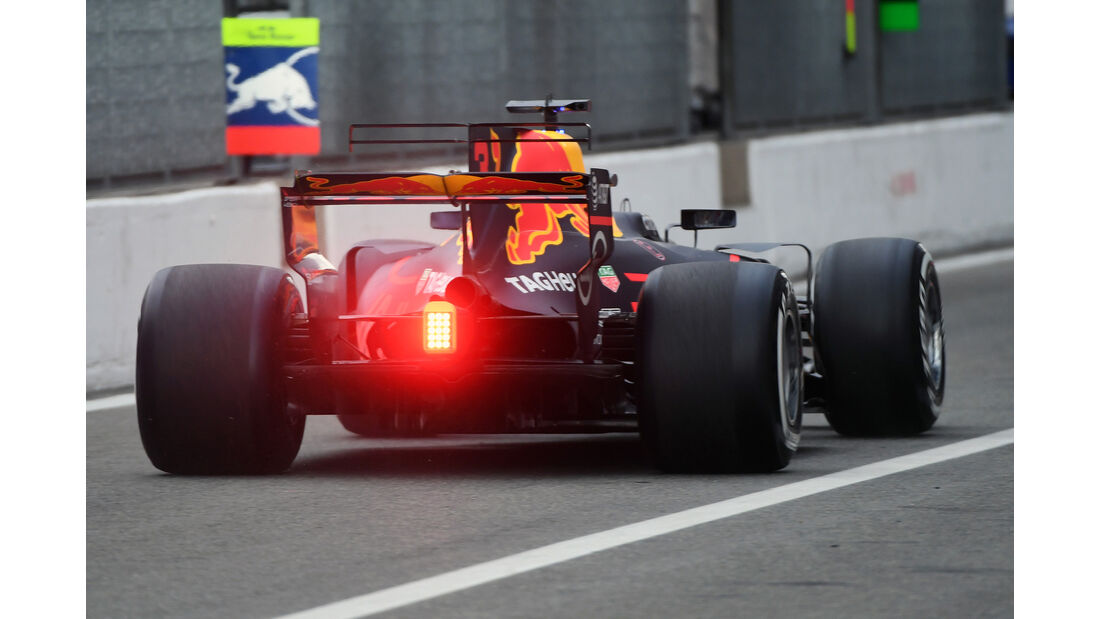 Daniel Ricciardo - Red Bull - Formel 1 - GP Italien - Monza - 1. September 2017
