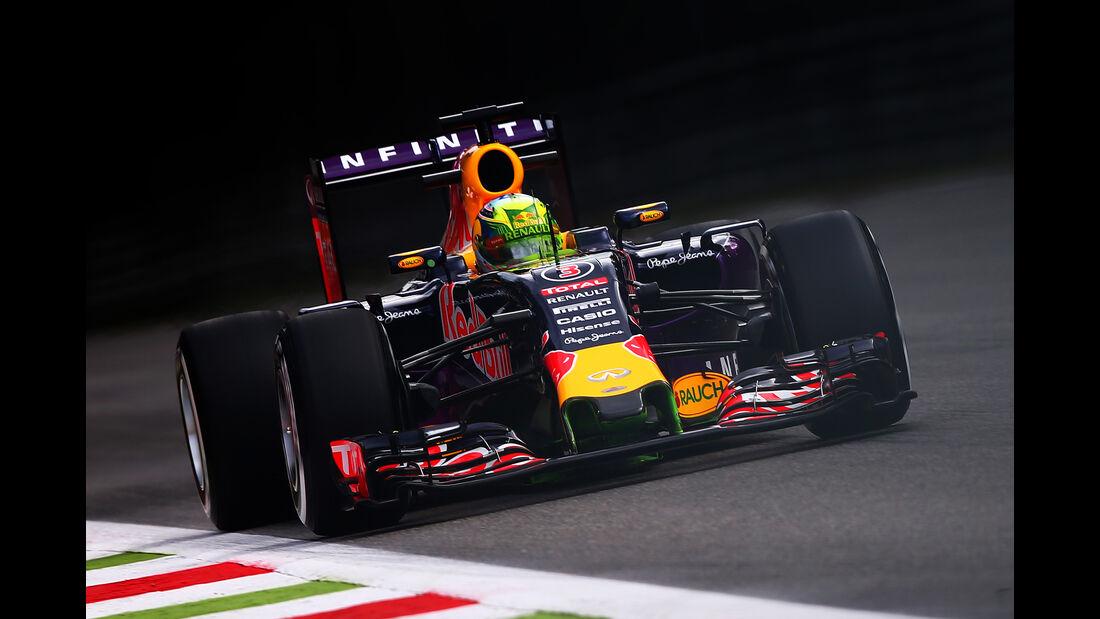 Daniel Ricciardo - Red Bull - Formel 1 - GP Italien - Monza - 4. September 2015