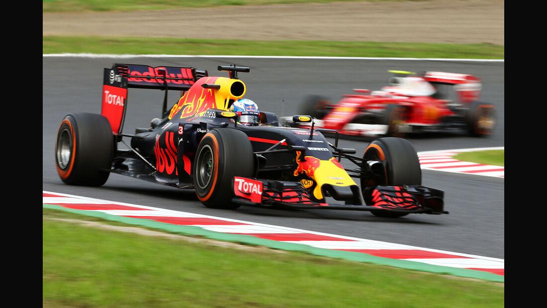 Daniel Ricciardo - Red Bull - Formel 1 - GP Japan 2016 - Suzuka