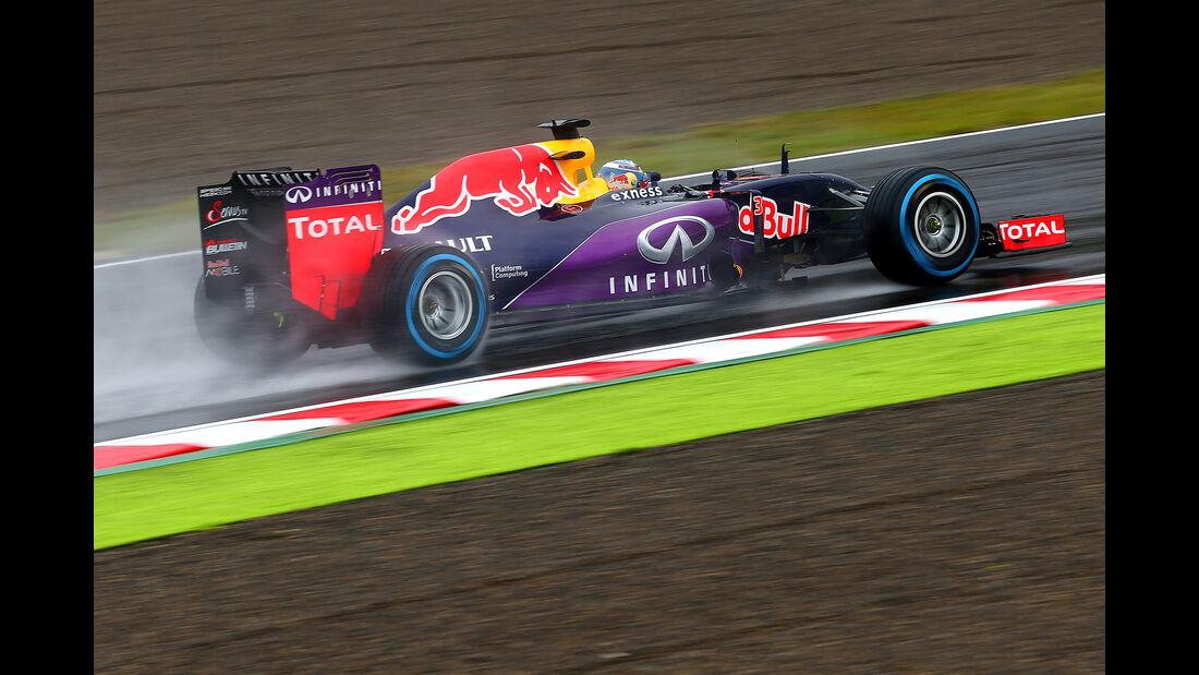 Daniel Ricciardo - Red Bull - Formel 1 - GP Japan - Suzuka - 25. September 2015