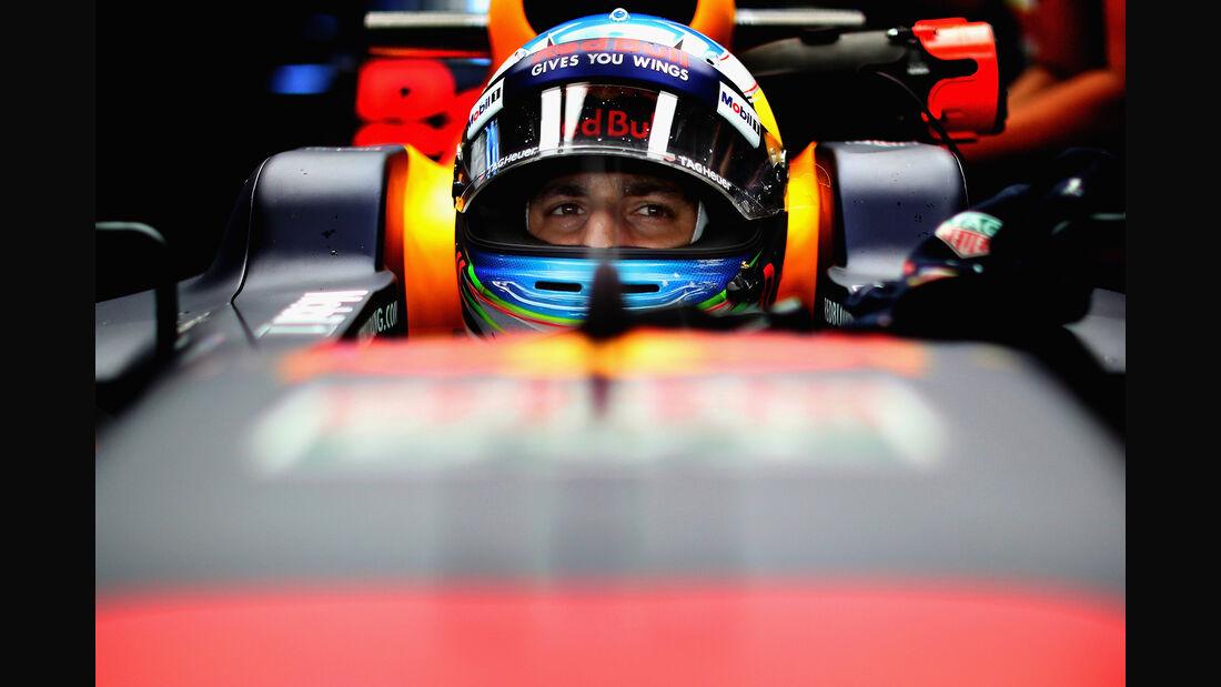 Daniel Ricciardo - Red Bull - Formel 1 - GP Japan - Suzuka - 6. Oktober 2017