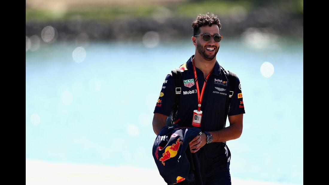 Daniel Ricciardo - Red Bull - Formel 1 - GP Kanada - Montreal - 8. Juni 2017