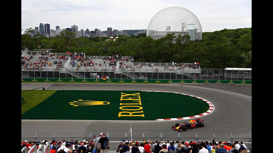 Daniel Ricciardo - Red Bull - Formel 1 - GP Kanada - Montreal - 9. Juni 2017