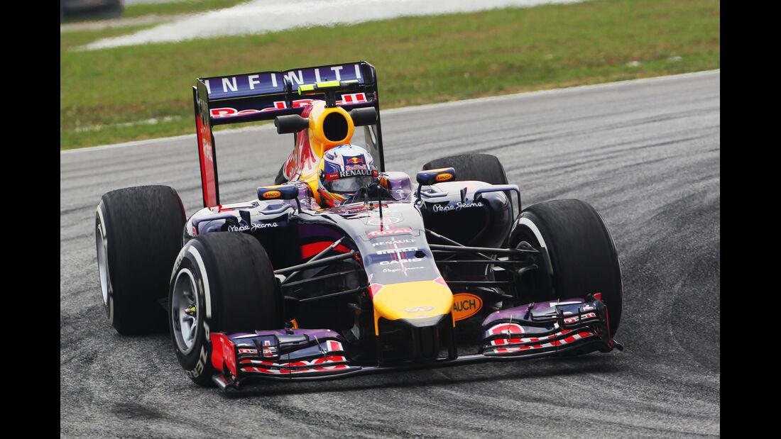 Daniel Ricciardo - Red Bull - Formel 1 - GP Malaysia - 28. März 2014