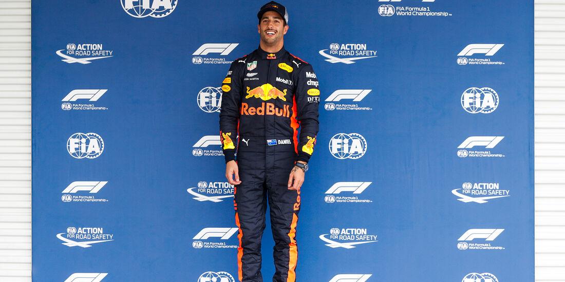 Daniel Ricciardo - Red Bull - Formel 1 - GP Mexiko - 27. Oktober 2018