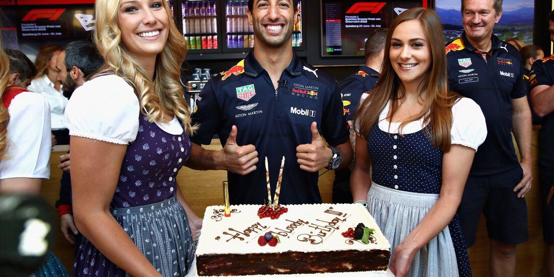 Daniel Ricciardo - Red Bull - Formel 1 - GP Österreich - 1. Juli 2018