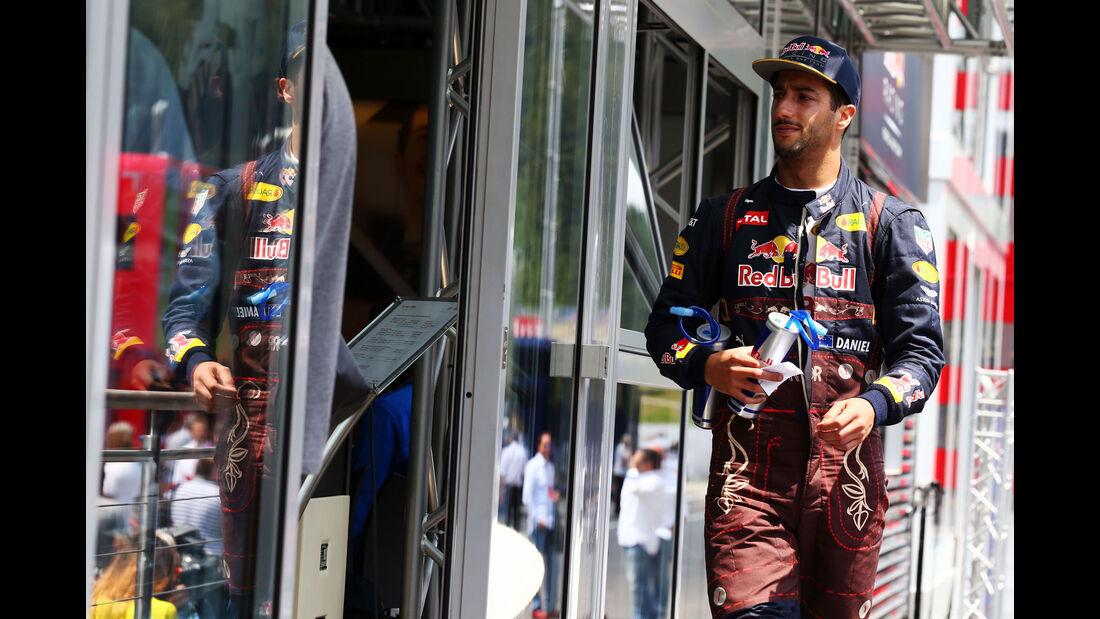 Daniel Ricciardo - Red Bull  - Formel 1 - GP Österreich - 2. Juli 2016