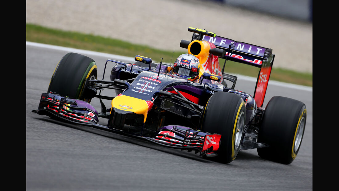 Daniel Ricciardo - Red Bull - Formel 1 - GP Österreich - Spielberg - 20. Juni 2014