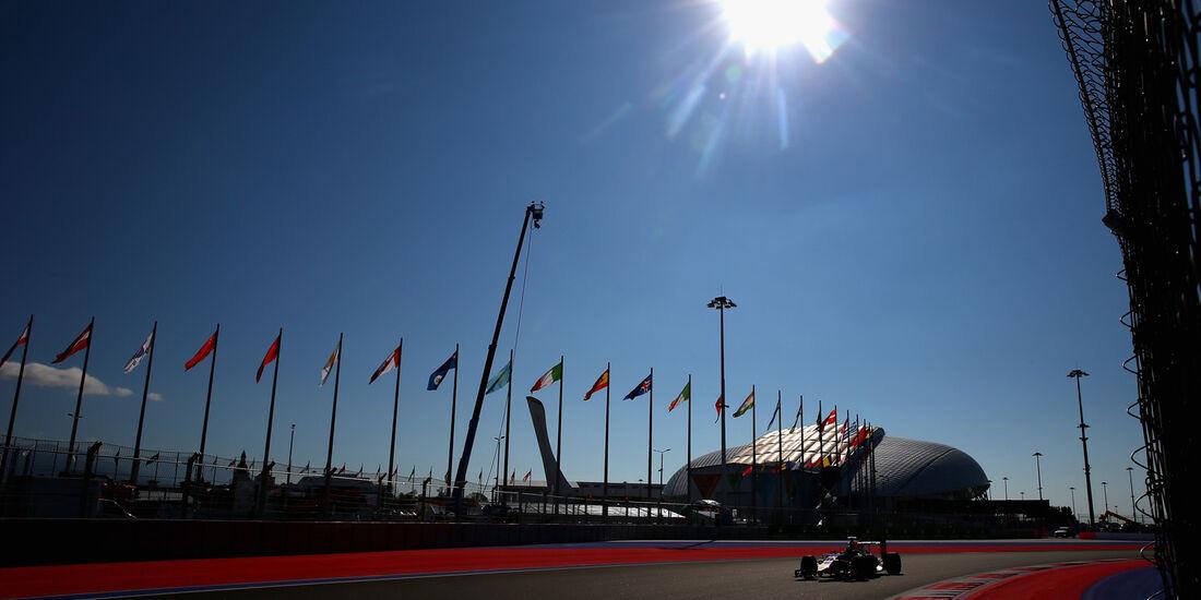 Daniel Ricciardo - Red Bull - Formel 1 - GP Russland - 10. Oktober 2014