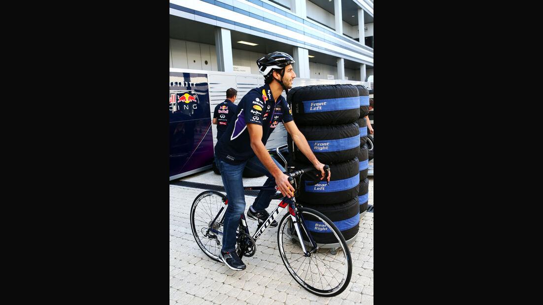 Daniel Ricciardo - Red Bull - Formel 1 - GP Russland - Sochi - 9. Oktober 2014