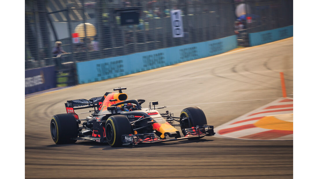 Daniel Ricciardo - Red Bull - Formel 1 - GP Singapur - 14. September 2018