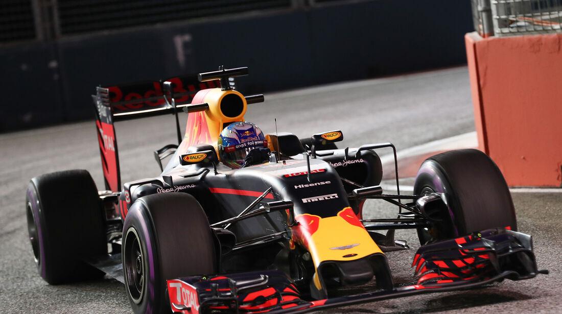 Daniel Ricciardo - Red Bull - Formel 1 - GP Singapur - 16. September 2016