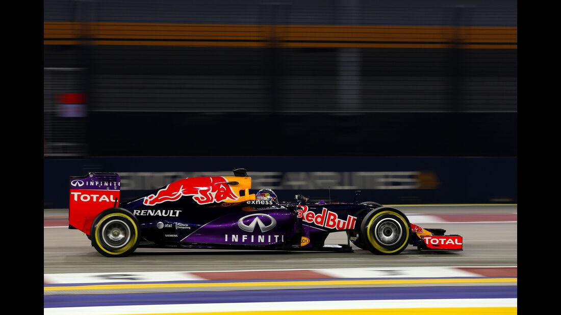 Daniel Ricciardo - Red Bull - Formel 1 - GP Singapur - 18. September 2015