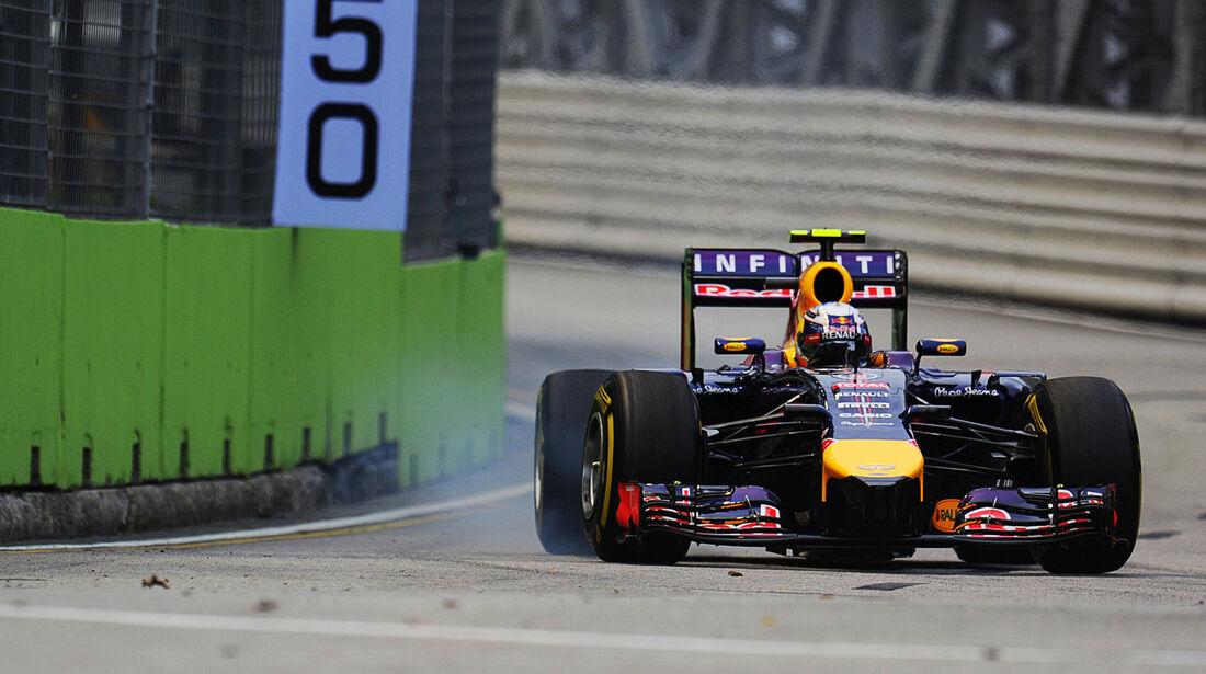 Daniel Ricciardo - Red Bull - Formel 1 - GP Singapur - 20. September 2014
