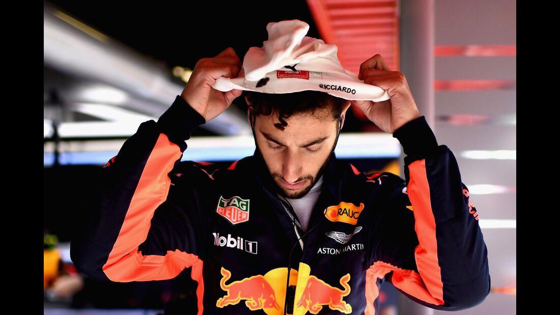 Daniel Ricciardo - Red Bull - Formel 1 - GP Spanien - 12. Mai 2017