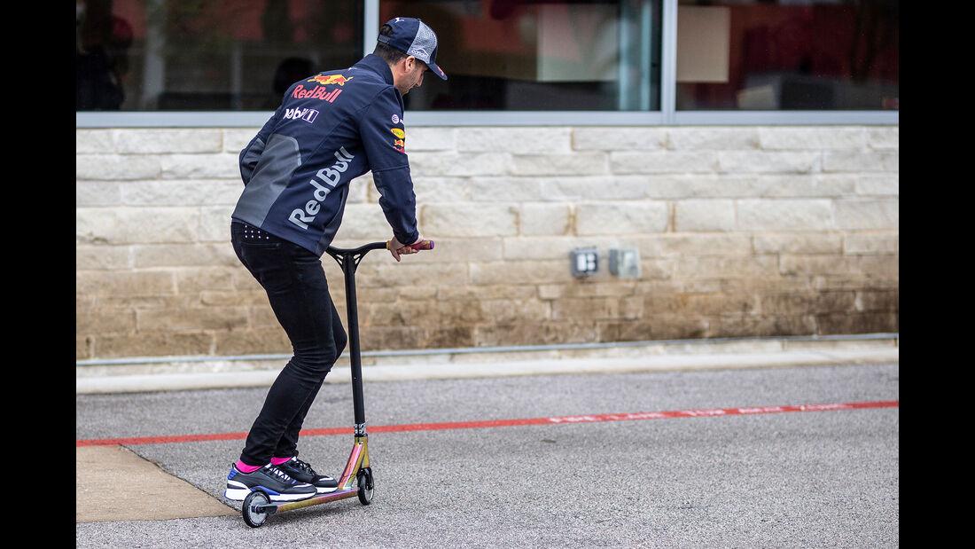 Daniel Ricciardo - Red Bull - Formel 1 - GP USA - Austin - 18. Oktober 2018