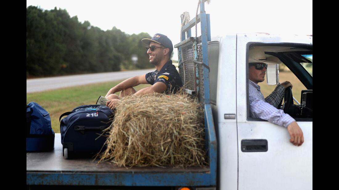 Daniel Ricciardo - Red Bull - Formel 1 - GP USA - Austin - 20. Oktober 2016
