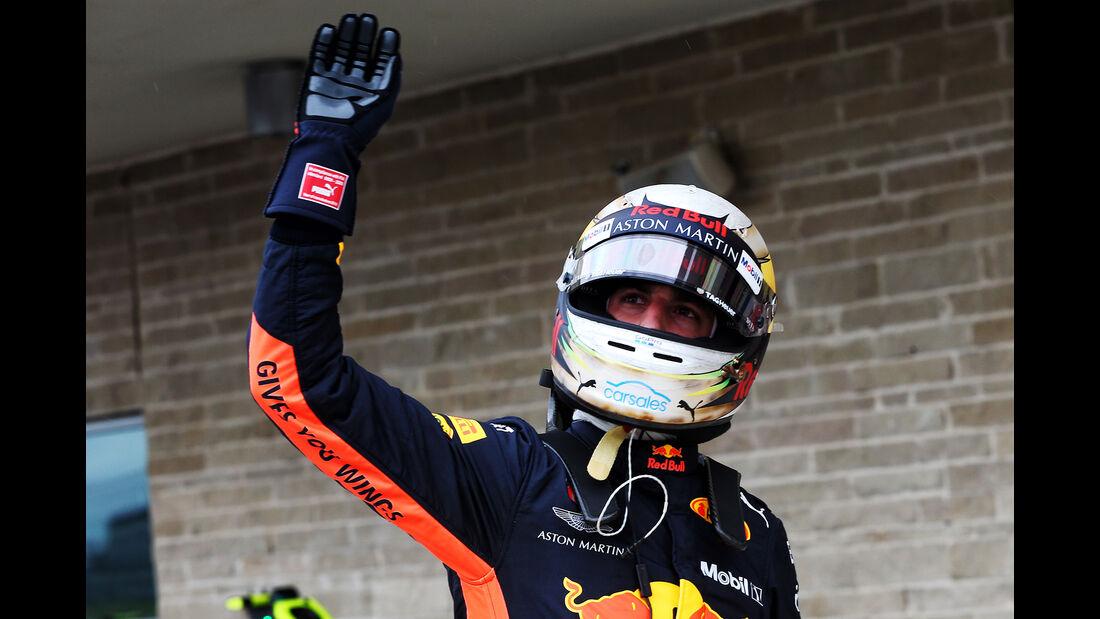 Daniel Ricciardo - Red Bull - Formel 1 - GP USA - Austin - 20. Oktober 2018