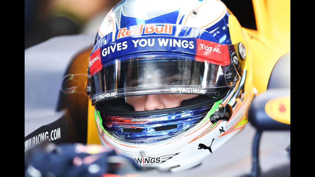 Daniel Ricciardo - Red Bull - Formel 1 - GP Ungarn - 23. Juli 2016