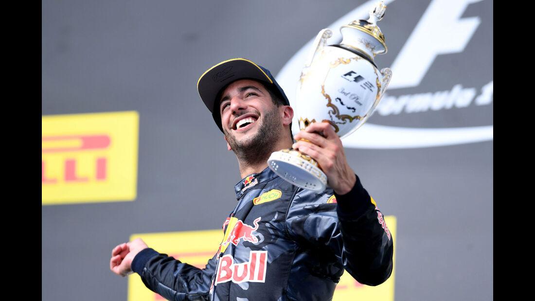 Daniel Ricciardo - Red Bull - Formel 1 - GP Ungarn - 24. Juli 2016