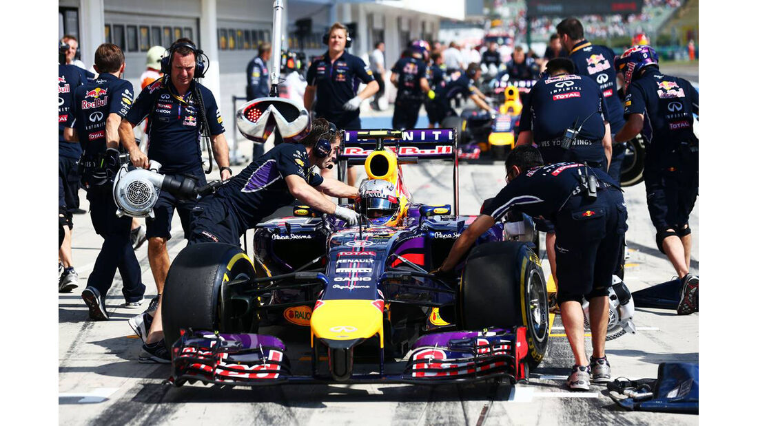 Daniel Ricciardo - Red Bull - Formel 1 - GP Ungarn - 25. Juli 2014