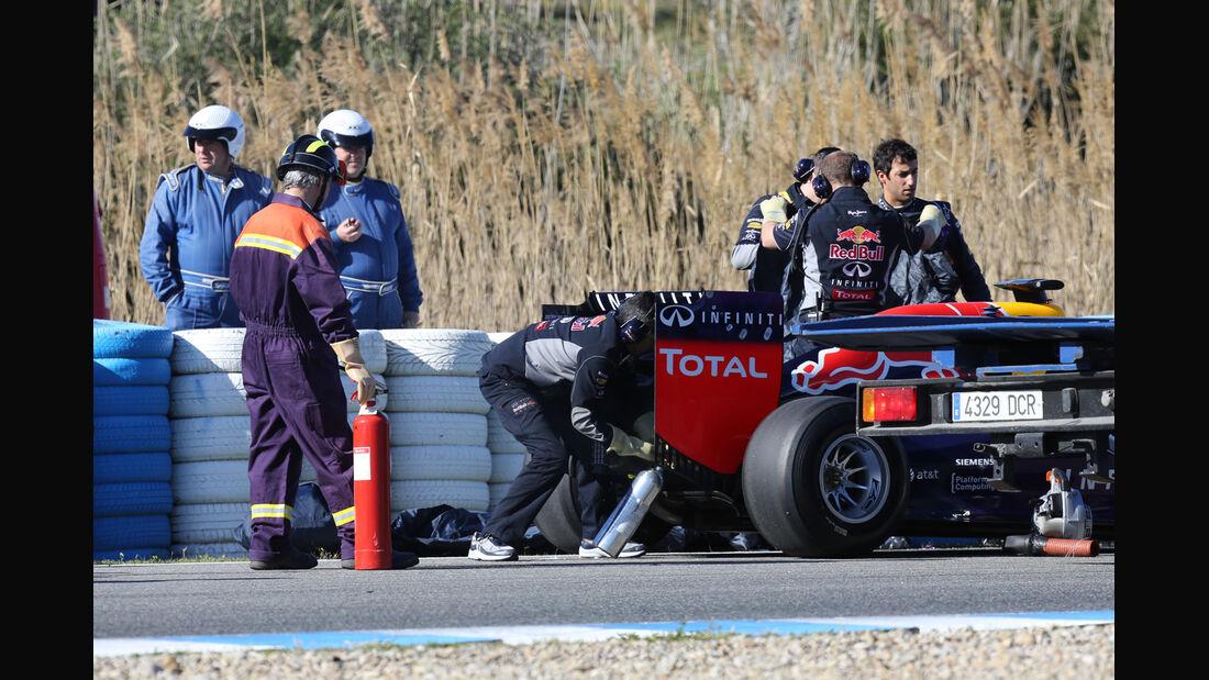 Daniel Ricciardo - Red Bull - Formel 1 - Jerez - Test - 30. Januar 2014