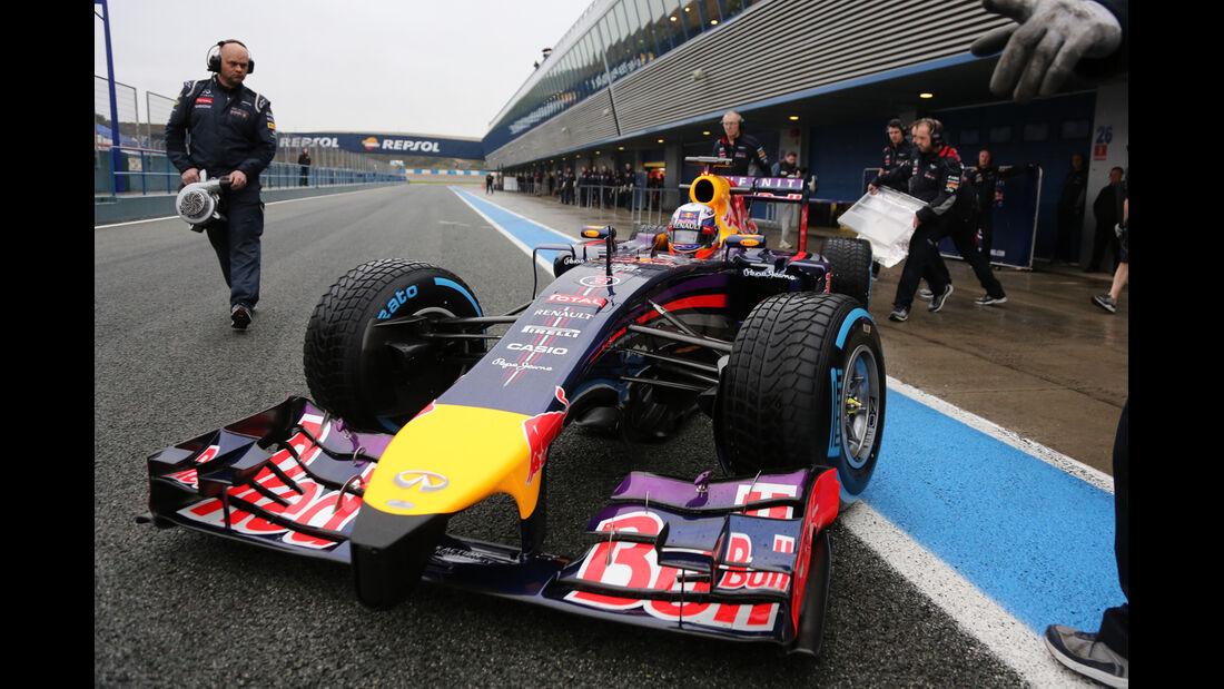 Daniel Ricciardo - Red Bull - Formel 1 - Jerez - Test - 31. Januar 2014