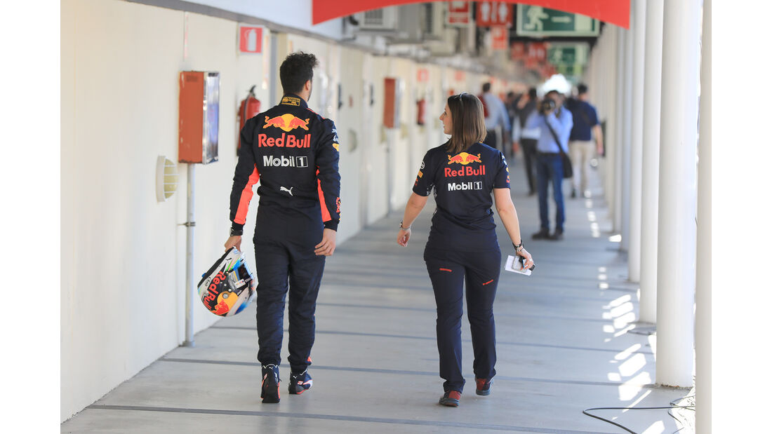 Daniel Ricciardo - Red Bull - Formel 1 - Test - Barcelona - 10. März 2017