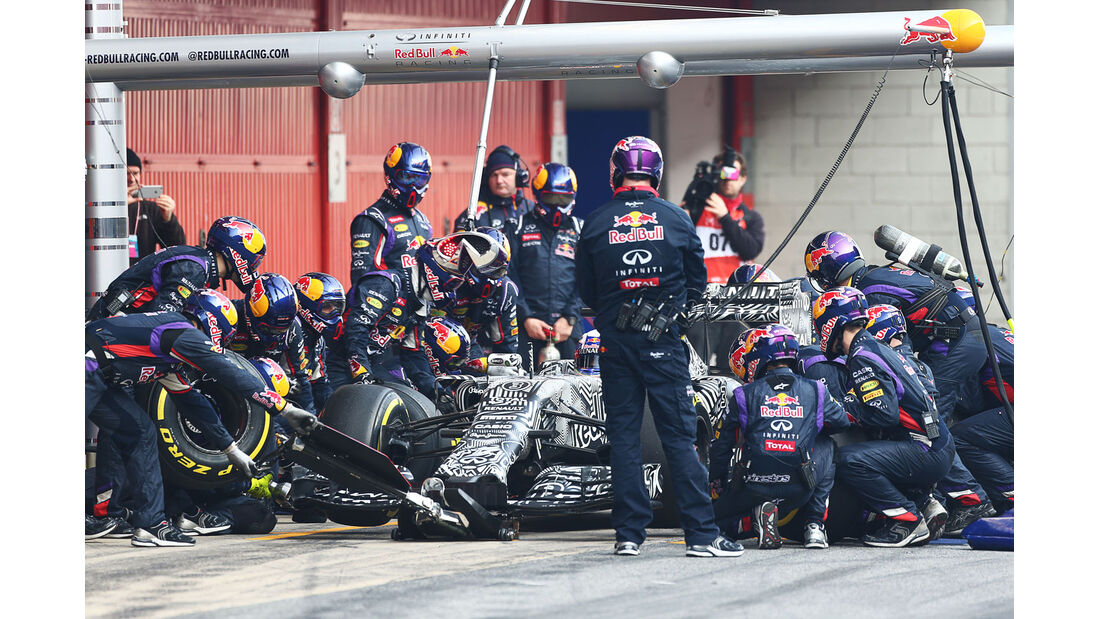 Daniel Ricciardo - Red Bull - Formel 1-Test - Barcelona - 20. Februar 2015