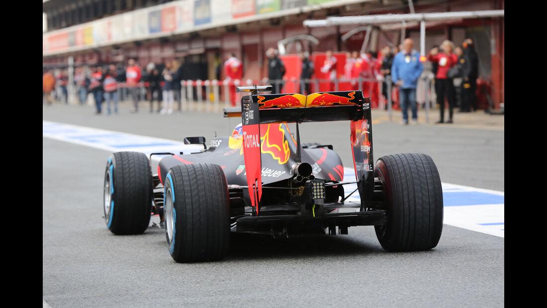Daniel Ricciardo - Red Bull - Formel 1-Test - Barcelona - 22. Februar 2016