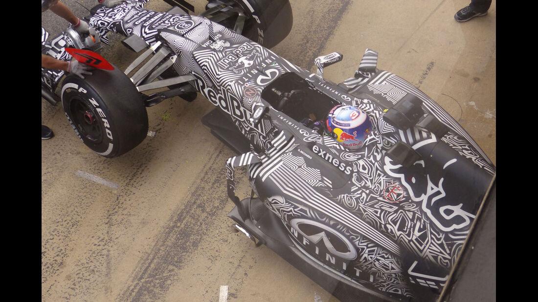 Daniel Ricciardo - Red Bull - Formel 1-Test - Barcelona - 28. Februar 2015