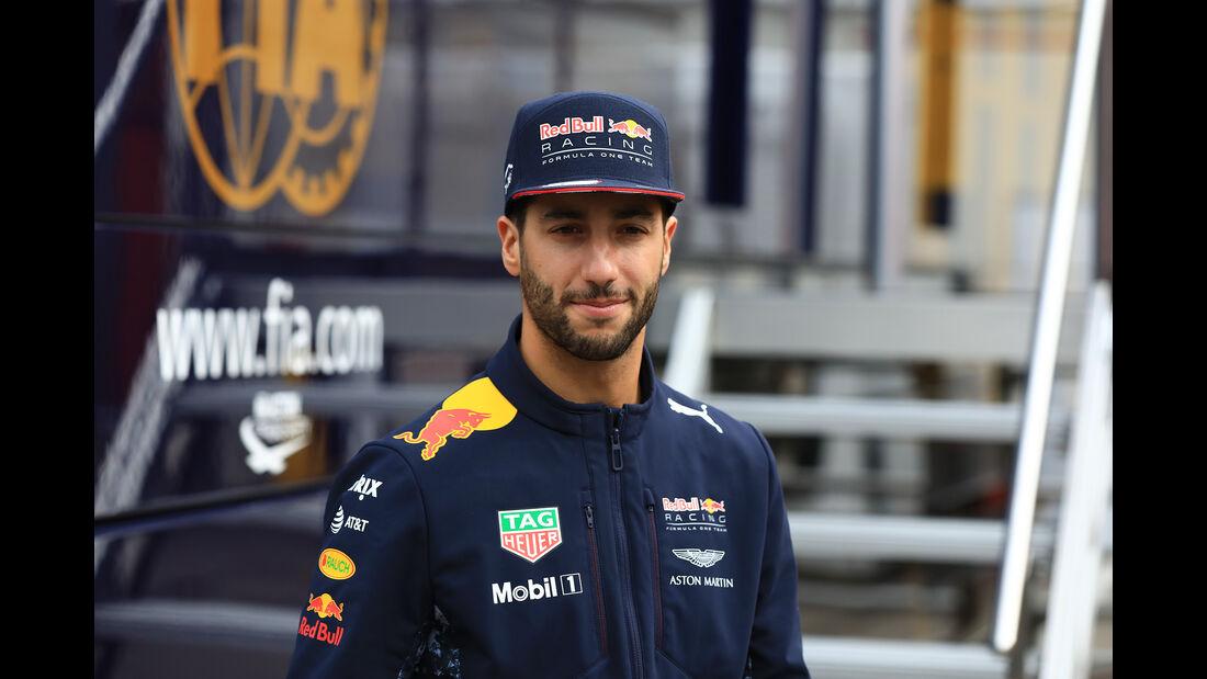 Daniel Ricciardo - Red Bull - Formel 1 - Test - Barcelona - 28. Februar 2017