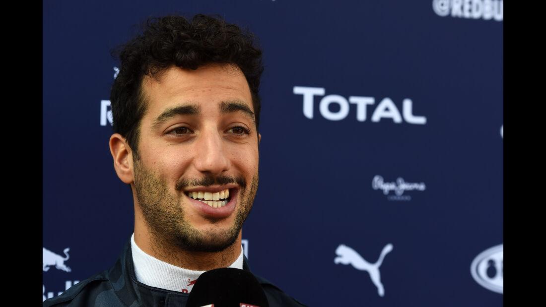 Daniel Ricciardo - Red Bull - Formel 1-Test - Barcelona - 3. März 2016