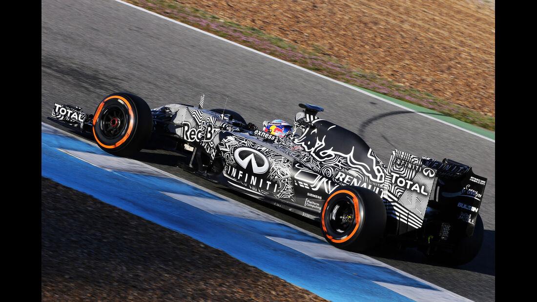 Daniel Ricciardo - Red Bull - Formel 1-Test Jerez - 1. Febraur 2015