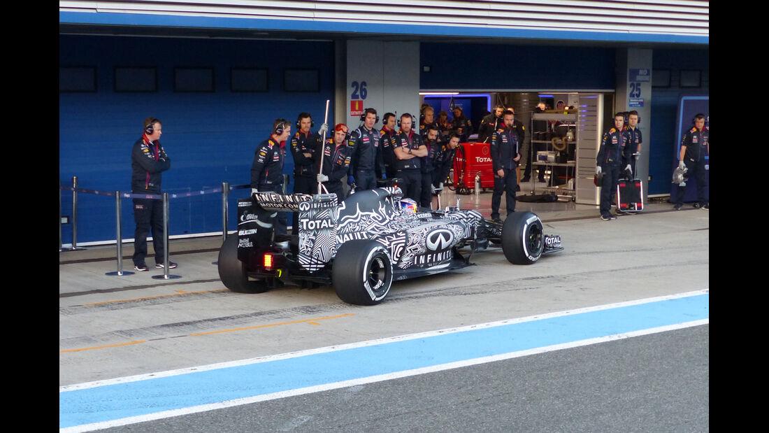 Daniel Ricciardo - Red Bull - Formel 1-Test Jerez - 1. Januar 2015